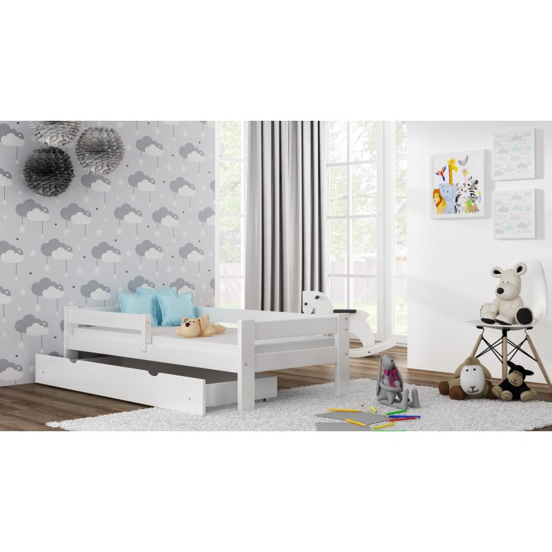Single Bed - Willow White