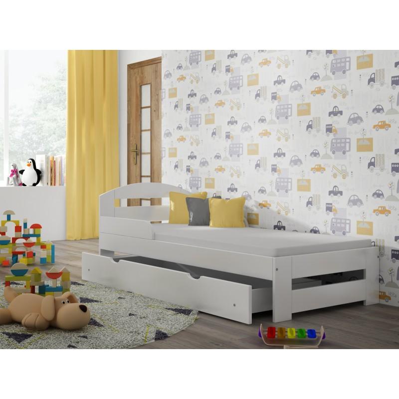 Viengulė lova - Kiko White
