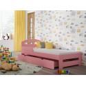 Single Bed - Kiko Pink