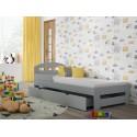 Single Bed - Kiko Grey