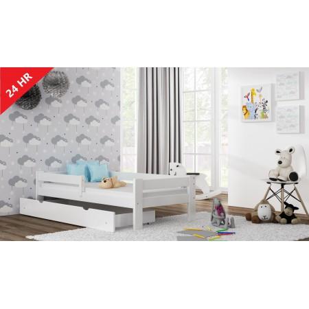 Łóżko pojedyncze - Wierzba dla dzieci Maluch Junior