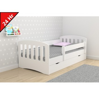 Single Bed Classic 1 - White 24Hr