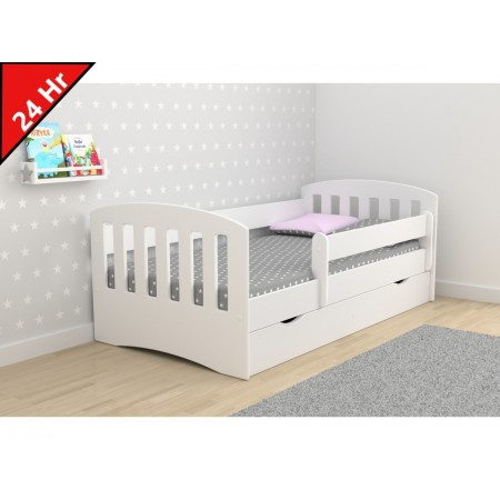 Single Bed Classic 1 - For Kids Children Toddler Junior
