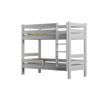 Solid Wood Bunk Bed - Toby White