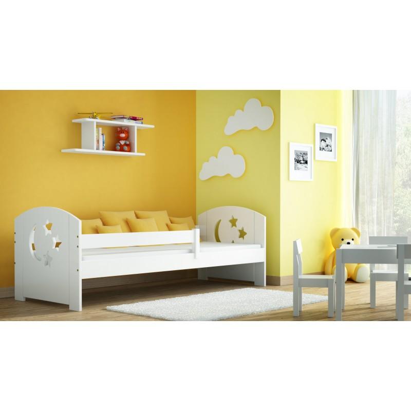 Viengulė lova - lelijos ekranas