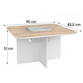 Detský hrací stôl Oscar - Rozmery 90 cm