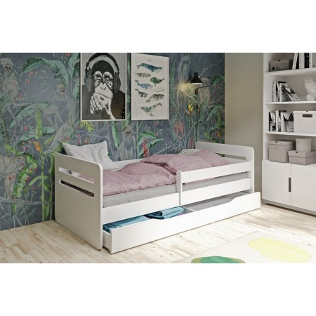 Single Bed Kami - Pour enfants enfants enfant junior