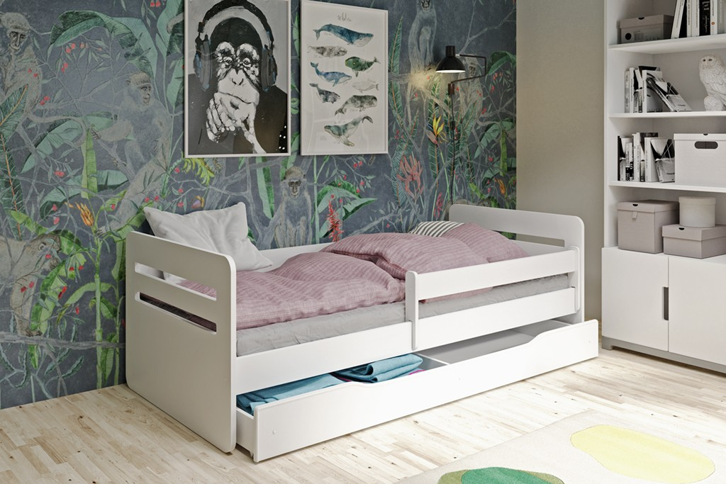 Single Bed Kami - White