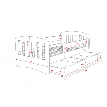 Single Bed Bella - Diagram 140