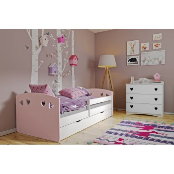 Single Bed Bella - Pink