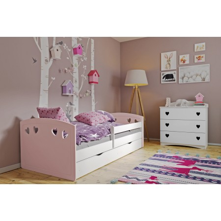 Lit Simple Bella - Pour Enfants Enfants Toddler Junior