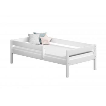 Einzelbett Filip - Weiß ohne Schubladen