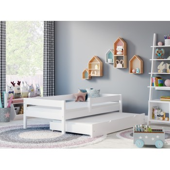 Trundle Bed Mateo - White Room