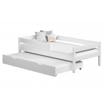 Łóżko wysuwane Mateo - białe