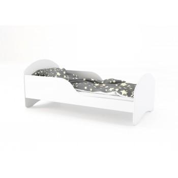 Jednolôžková posteľ Cosmo - biela