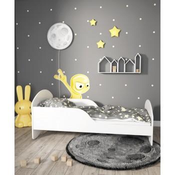 Łóżko pojedyncze Cosmo - białe