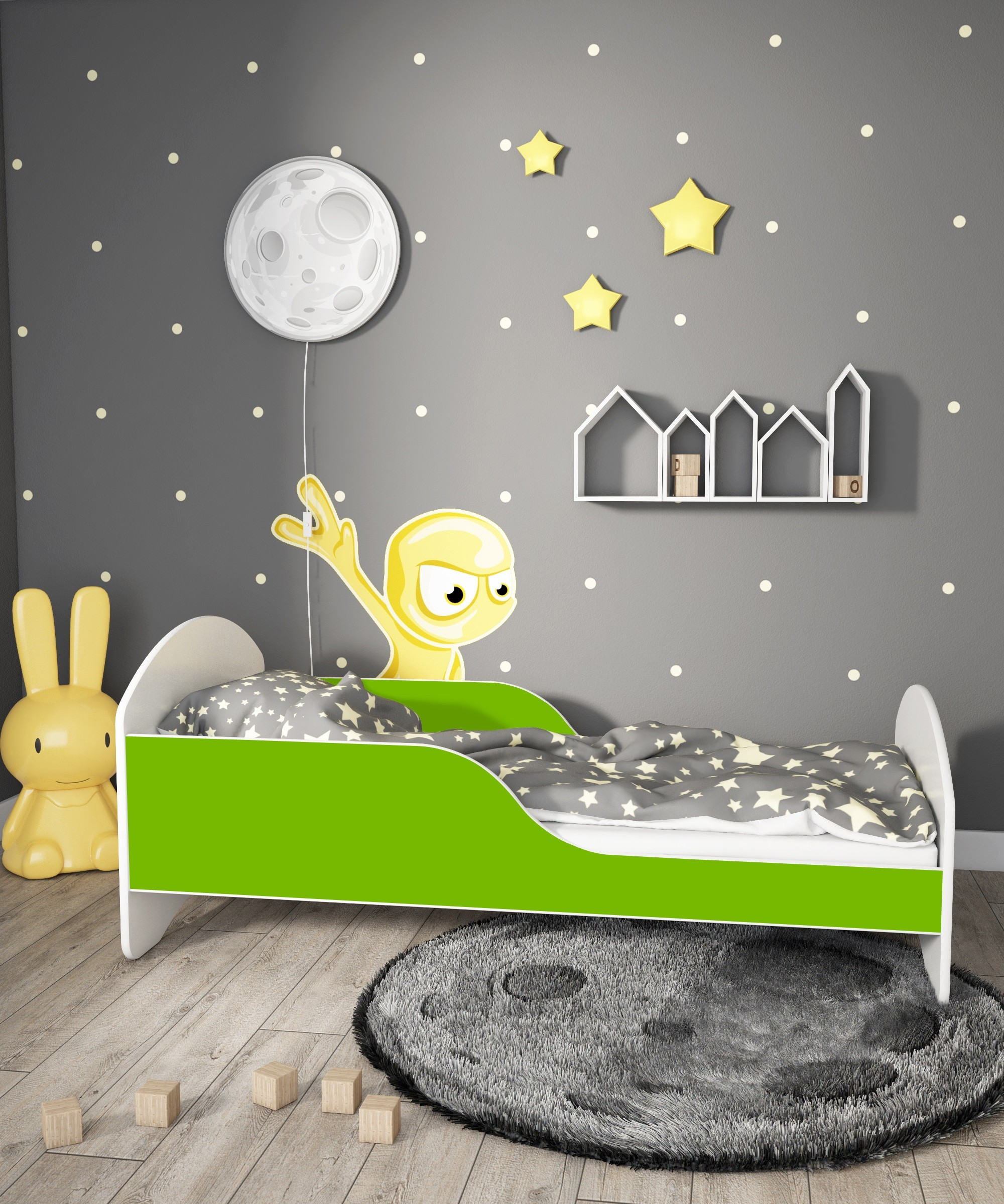 Single Bed Cosmo - White
