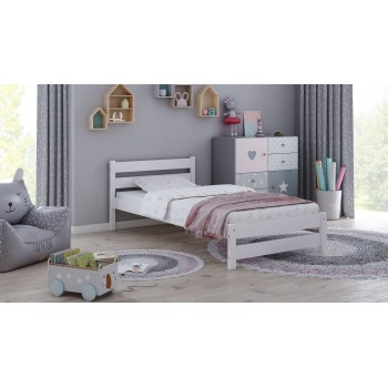 Vienvietīga gulta Apollo - balta bez atvilktnēm