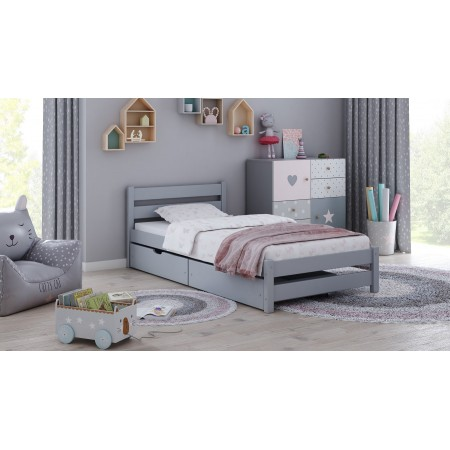 Single Bed - Apollo For Kids Children Toddler Junior Teens