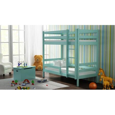 Łóżko piętrowe z litego drewna - Theo For Kids Children Toddler Junior