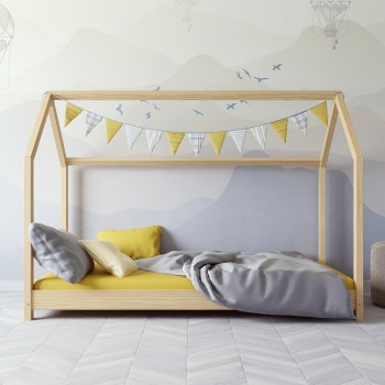 Montesori mājas gulta - Kofi Natural