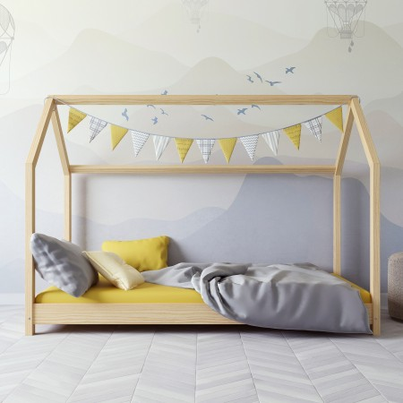 Canopy House Shaped Einzelbett - Kofi