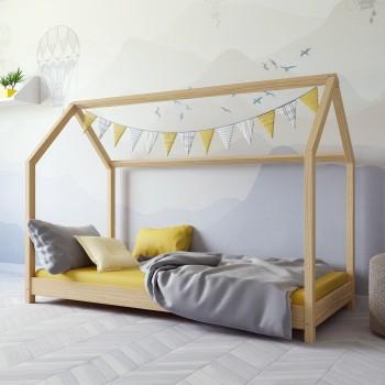 Łóżko Montesori House - Kofi Natural