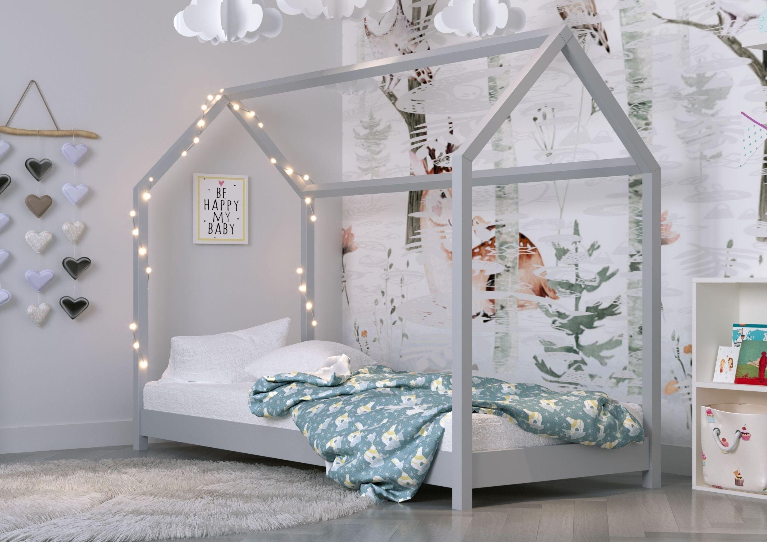 Montesori House Bed - Kofi Natural