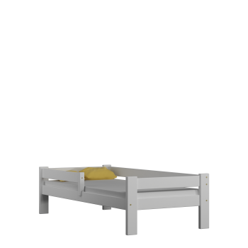 Single Bed - Willow White No Drawers