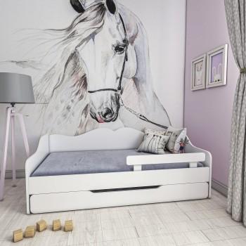 Viengulė lova Monakas - vaikams, mažiems vaikams