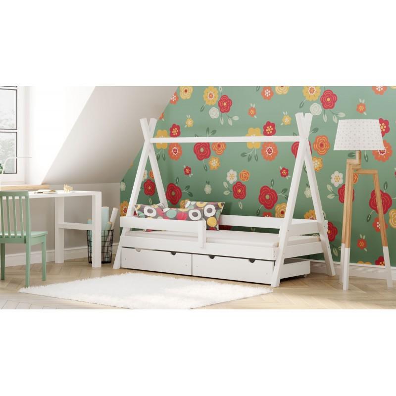 Montesori Tipi Bed - Valkoinen