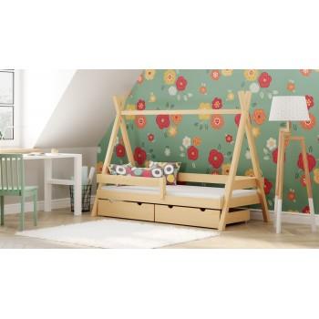 Montesori Tipi lova - natūrali