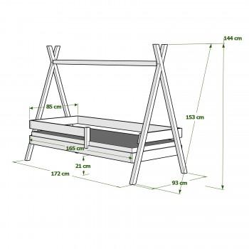 Dimensiones 160x80