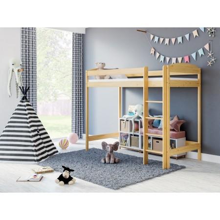 Podkrovná posteľ - Bobby pre deti Batoľa Deti Juniori