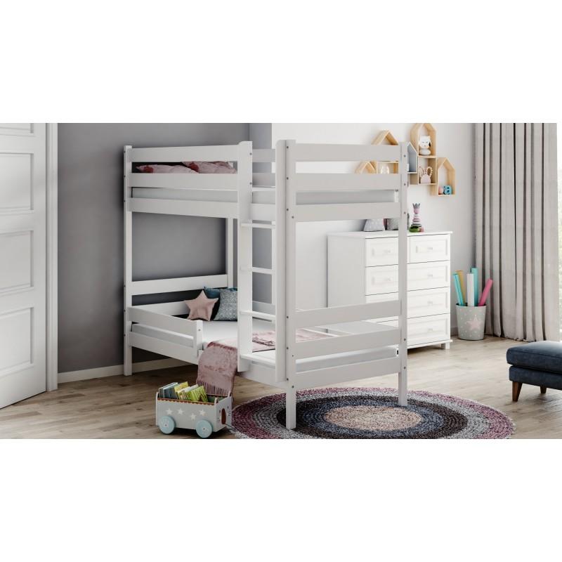 Patrová postel Theo - bílá