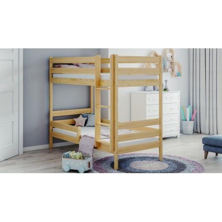 Lit superposé en bois massif - Theo For Kids Enfants Toddler Junior