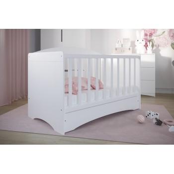 Bērnu gultiņa Pola - jaundzimušiem zīdaiņiem