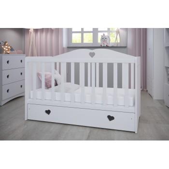 Bērnu gultiņa Olīvija - jaundzimušiem zīdaiņiem