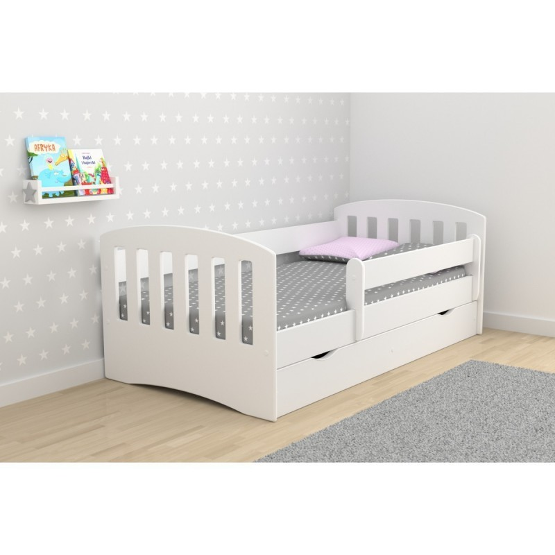 Single Bed Classic 1 - White