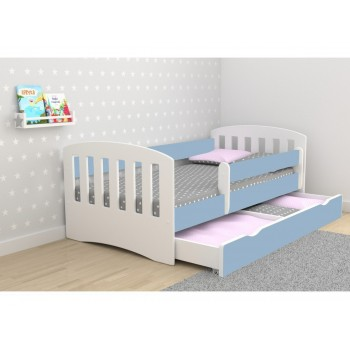 Single Bed Classic 1 - Blue
