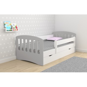 Single Bed Classic 1 Mix - Grey
