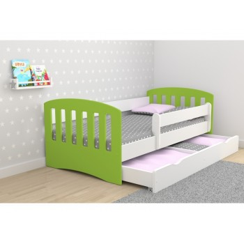 Single Bed Classic 1 Mix - Green