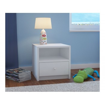 Kids Bedside Table Babydreams - White