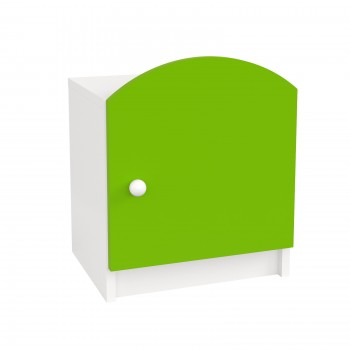 Kids Bedside Table Oscar - Lime