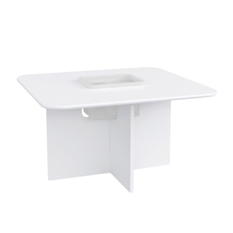 Hrací stôl pre deti Oscar - biely