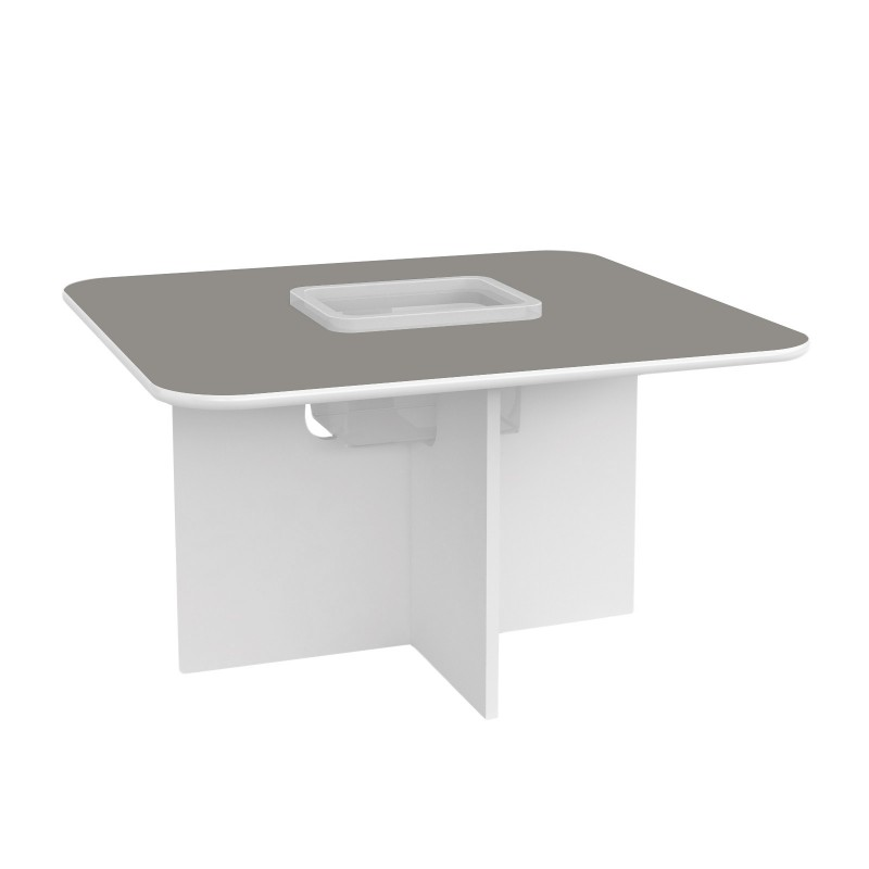 Kids Play Table Oscar - Grey