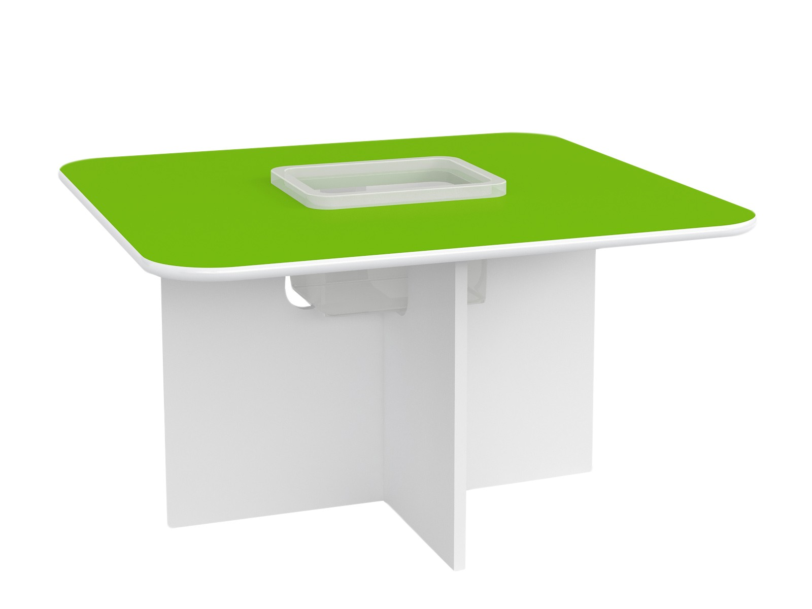Kids Play Table Oscar - White