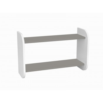 Kids Bookshelf Oscar - Grey