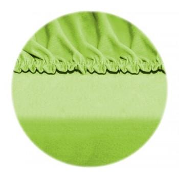 Sumontuoti lakštai - žalias obuolys