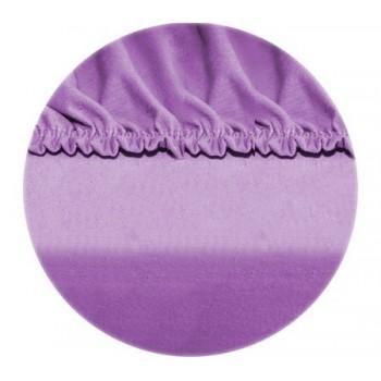 Sumontuoti lakštai - violetinė